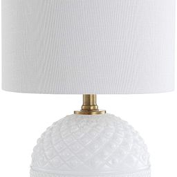 """JONATHAN Y JYL1040A Julienne 20.5"""" Glass/Metal LED Table Lamp, Contemporary for Bedroom, Living R... 