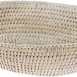 KOUBOO 1020035 La Jolla Bowl Bread Basket, Small, White-Wash | Amazon (US)