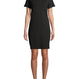 Time and Tru Women's T-Shirt Dress with Chest Pocket | Walmart (US)