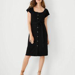 Ribbed Button Sheath Dress | Ann Taylor | Ann Taylor (US)