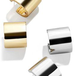 Set of 2 Square Hoop Earrings | Nordstrom