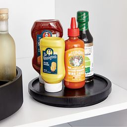 """The Home Edit by iDesign Onyx 9"""" Lazy Susan 