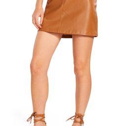 BB Dakota Basel Faux Leather Miniskirt   Nordstrom   Nordstrom