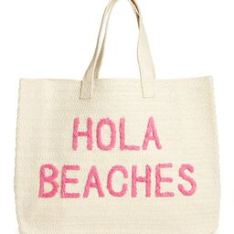 Hola Beaches Straw Tote | Nordstrom | Nordstrom