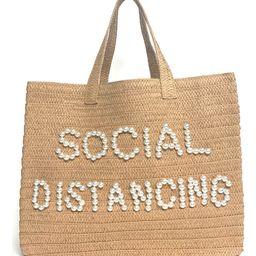 Social Distancing Straw Tote | Nordstrom | Nordstrom