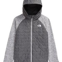 Quilted Sweater Fleece Jacket   Nordstrom