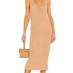 House of Harlow 1960 x Sofia Richie Rowan Crochet Dress in Candied Ginger from Revolve.com | Revolve Clothing (Global)
