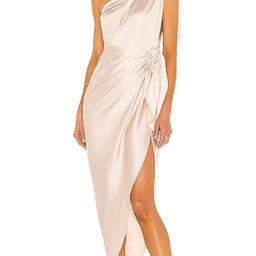 Marea Dress in Caramel   Revolve Clothing (Global)