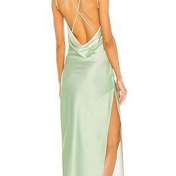 x REVOLVE Porter Dress in Mint Ombre   Revolve Clothing (Global)