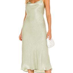 Berri Dress in Dusty Sage   Revolve Clothing (Global)