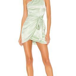 Karen Mini Dress in Mint Green   Revolve Clothing (Global)