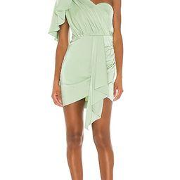 Veroni Mini Dress in Mint   Revolve Clothing (Global)