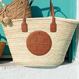 Ella Straw Basket Tote | Shopbop