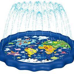 MAGIFIRESplashPad,SprinklerforKids&BabyPool3-in-1 WaterToysGiftsfor12...   Amazon (US)