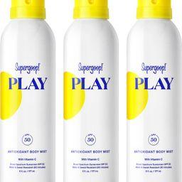 Supergoop! Full Size Play Antioxidant Body Mist SPF 50 Sunscreen | Nordstrom