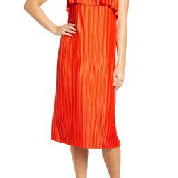 Pleat Midi Dress | Nordstrom | Nordstrom