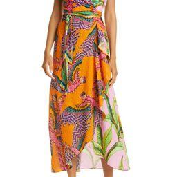 Mixed Print Surplice Dress | Nordstrom | Nordstrom
