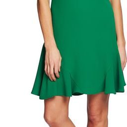 Bow Neck Short Sleeve Dress | Nordstrom