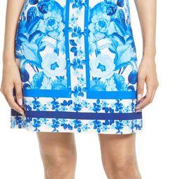 Border Print Sheath Dress | Nordstrom