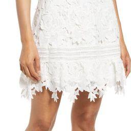 3D Lace A-Line Dress | Nordstrom