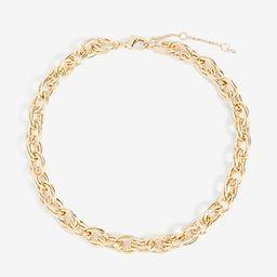 Interlocking Circle Chain Necklace | Express