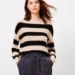 Striped Boatneck Sweater | LOFT | LOFT