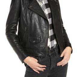 Leather Biker Jacket | Nordstrom