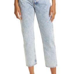 Maya High Waist Ankle Slim Straight Leg Jeans | Nordstrom