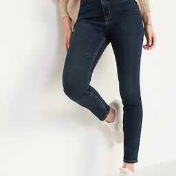 Extra High-Waisted Rockstar 360° Stretch Super Skinny Jeans for Women | Old Navy (US)