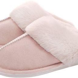 WATMAID Women's House Slippers Memory Foam Fluffy Soft Slippers, Slip on Winter Warm Shoes for Wo...   Amazon (US)