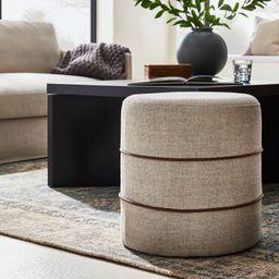 Catalina Mudcloth Round Ottoman - Threshold™ designed with Studio McGee | Target