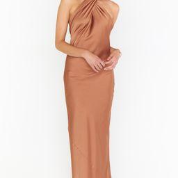 Jasmine Halter Maxi Dress   Show Me Your Mumu