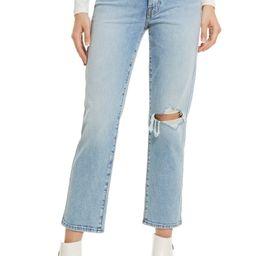 High Waist Straight Leg Jeans   Nordstrom   Nordstrom