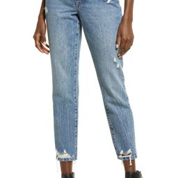 The Madison Ripped Crop Straight Leg Jeans   Nordstrom   Nordstrom