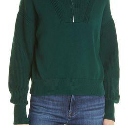 Bastien Half-Zip Cotton Sweater   Nordstrom