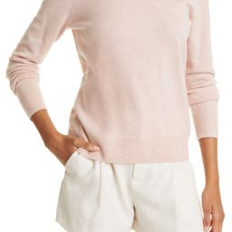 Easy Fit Crewneck Wool & Cashmere Sweater   Nordstrom