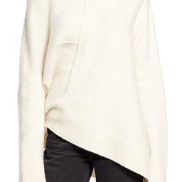 Lock Roll Neck Wool Blend Sweater   Nordstrom