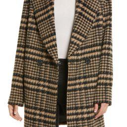 Plaid Shawl Collar Coat | Nordstrom