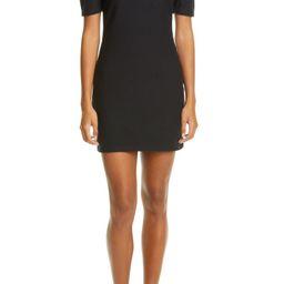 Square Neck Puff Sleeve Minidress | Nordstrom