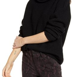 Rib Funnel Neck Sweater | Nordstrom