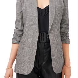 Check Ruched Sleeve Jacket | Nordstrom