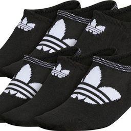 6-Pack Trefoil Logo No-Show Socks   Nordstrom