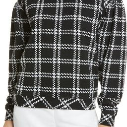 Pattern Detail Sweatshirt | Nordstrom | Nordstrom