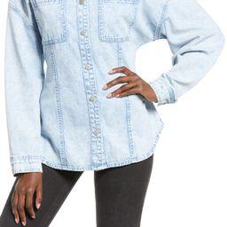 Cinched Back Denim Shirt | Nordstrom | Nordstrom