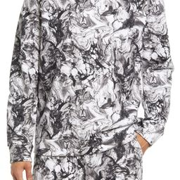 One for All Marble Print Crewneck Sweatshirt | Nordstrom | Nordstrom