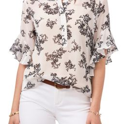 Bouquets Chiffon Blouse | Nordstrom | Nordstrom