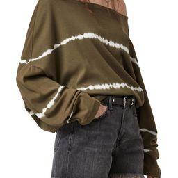 Rita Oversize Off the Shoulder Long Sleeve T-Shirt | Nordstrom | Nordstrom