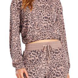 BB Dakota Nairobi Leopard Print Crop Top | Nordstrom | Nordstrom