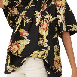 Jodie Floral Cotton Tunic   Nordstrom
