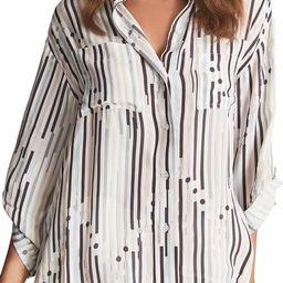 Mabel Stripe Button-Up Shirt   Nordstrom   Nordstrom